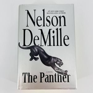 The Panther Hardcover Book by Nelson DeMille - GUC